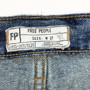 Free People Shorts - Free People Button Fly Cutoff Frayed Distressed O